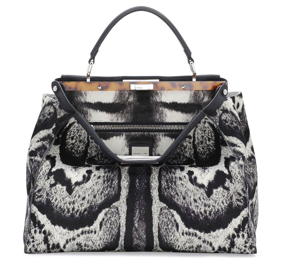 f32cfe99184c Most Expensive Calf Hair Bag Fendi Calf Hair Peekaboo Bag ...