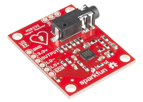 AD8232 Heart Rate Monitor Hookup Guide | Arduino | Heart