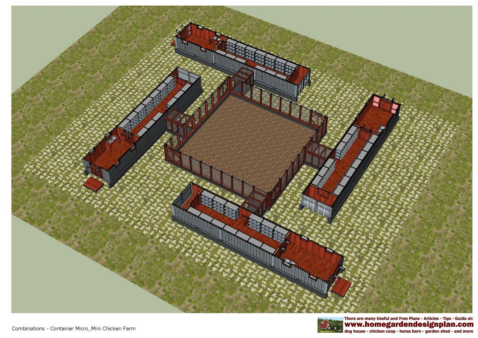 32   Großartig mini farm for Mini Farm Plan  288gtk
