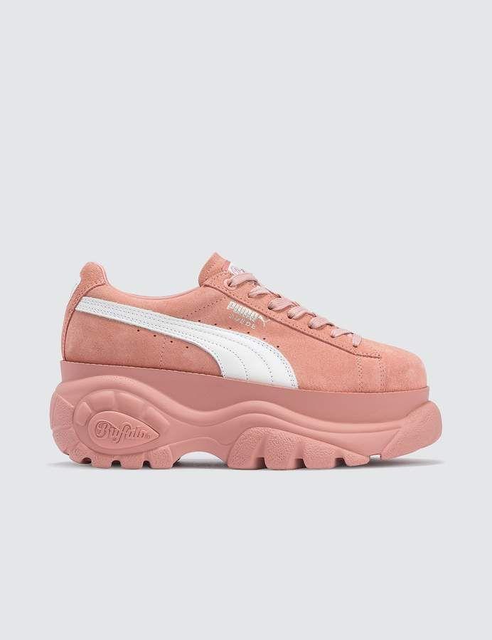 Puma X Buffalo Suede Classic | Fashion, Pink pumas, Sneakers