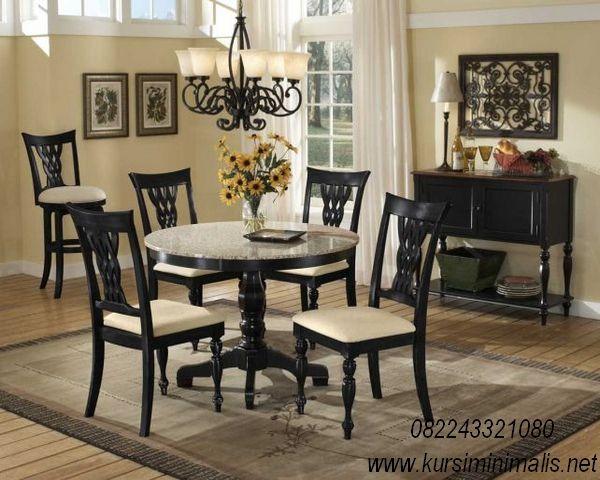 34++ Round granite top dining table set Best Seller