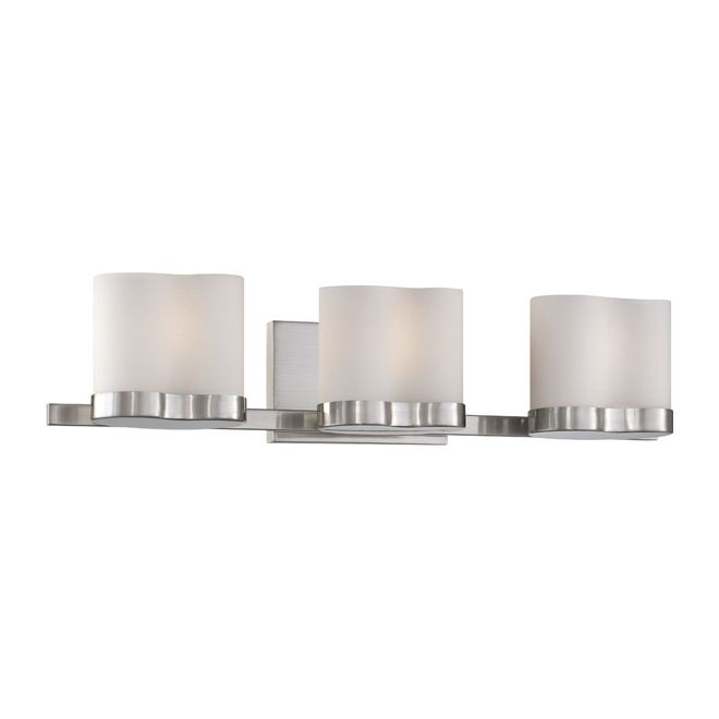 Rona Bathroom Wall Sconces : Rona Bathroom Lighting - uberhaus 3 light vanity fixture from rona 54 99