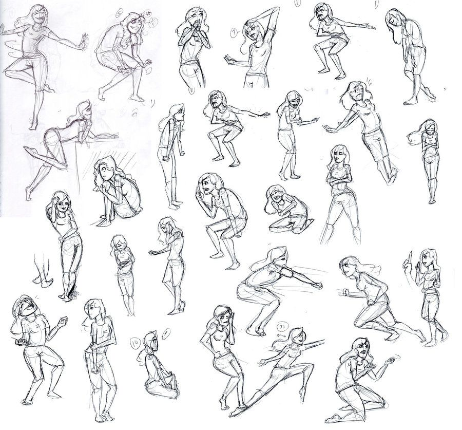 Action poses sorta
