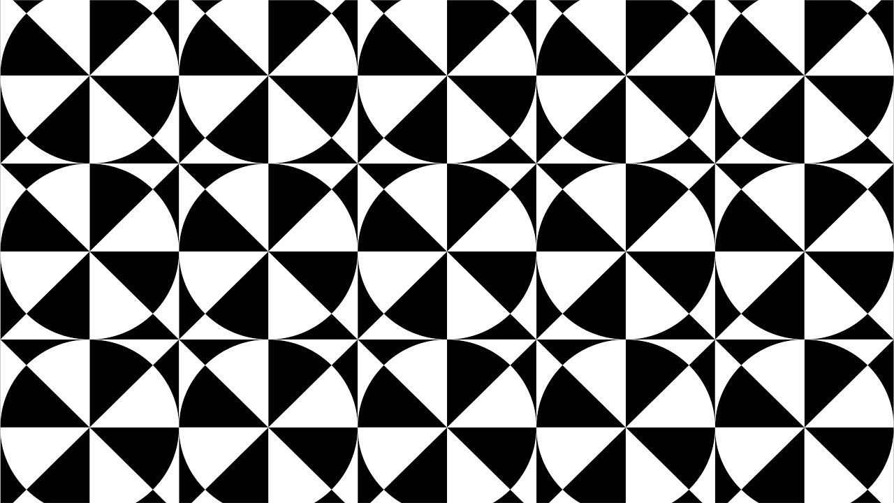 Geometric Shapes Design Coreldraw Tutorials Black And White