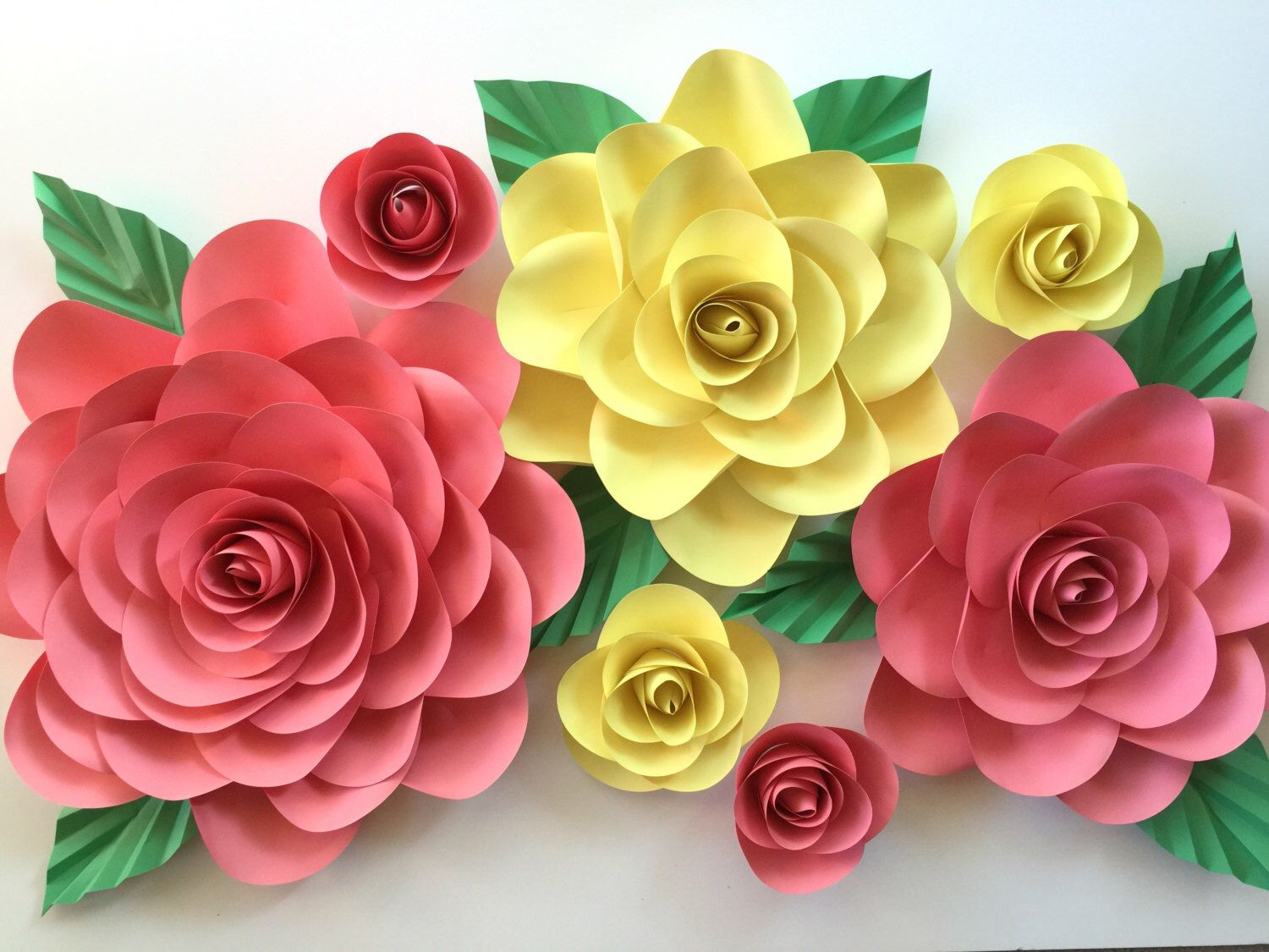 etsy paper flower backdrop - Kubre.euforic.co
