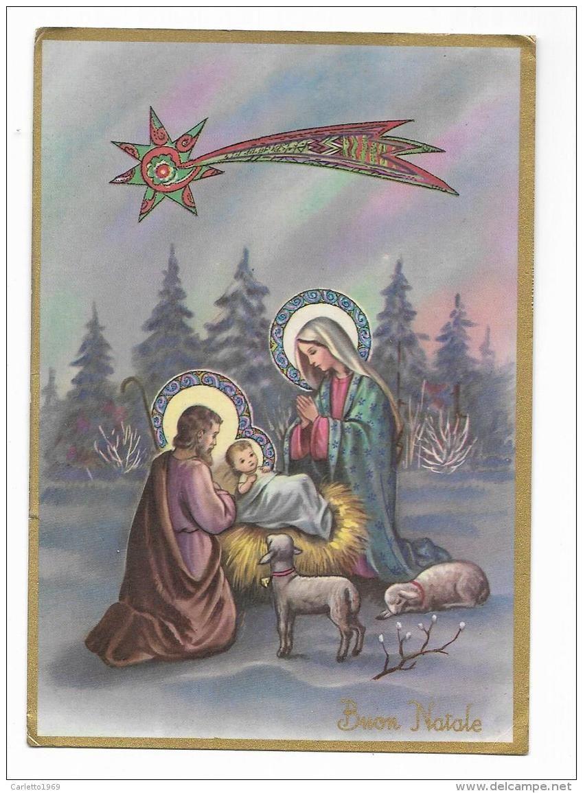 Immagini Di Natale Sacra Famiglia.Buon Natale Sacra Famiglia Viaggiata Fg Autres Holy