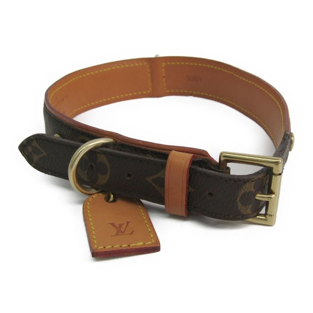 e7e28d64 Louis #vuitton Monogram Dog Collar Monogram Monogram Collier Baxter ...