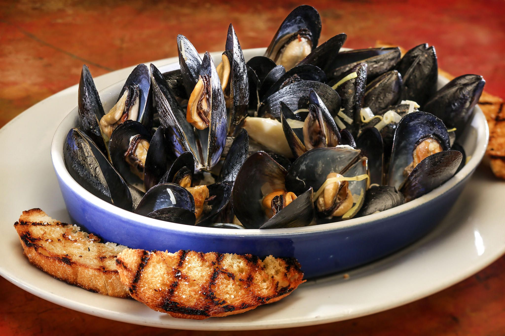 Check out Giuseppe's mussels in sambuca. It's so easy to make ...
