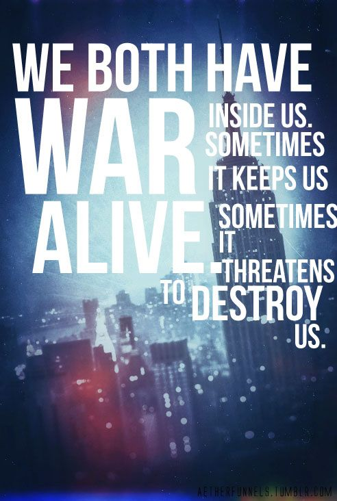 Sometimes it threatens to destroy us. | Divergent ...