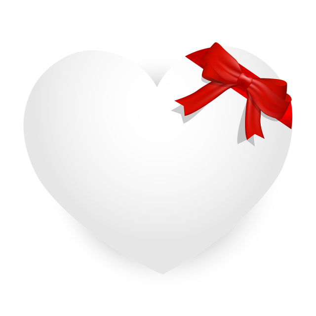 White Heart With Red Gift Ribbon Heart Love Gift Png And Vector With Transparent Background For Free Download Gift Ribbon Happy Valentines Day Images Valentines Day Pictures