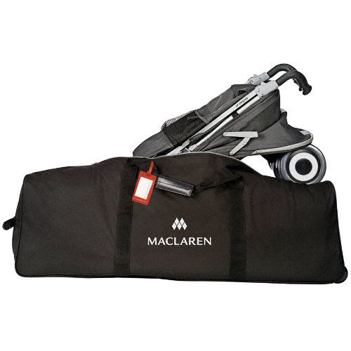 f275bb4665d3 Maclaren Stroller Carry Bag. Used when traveling by air with the Techno XT.  I would fold up stroller