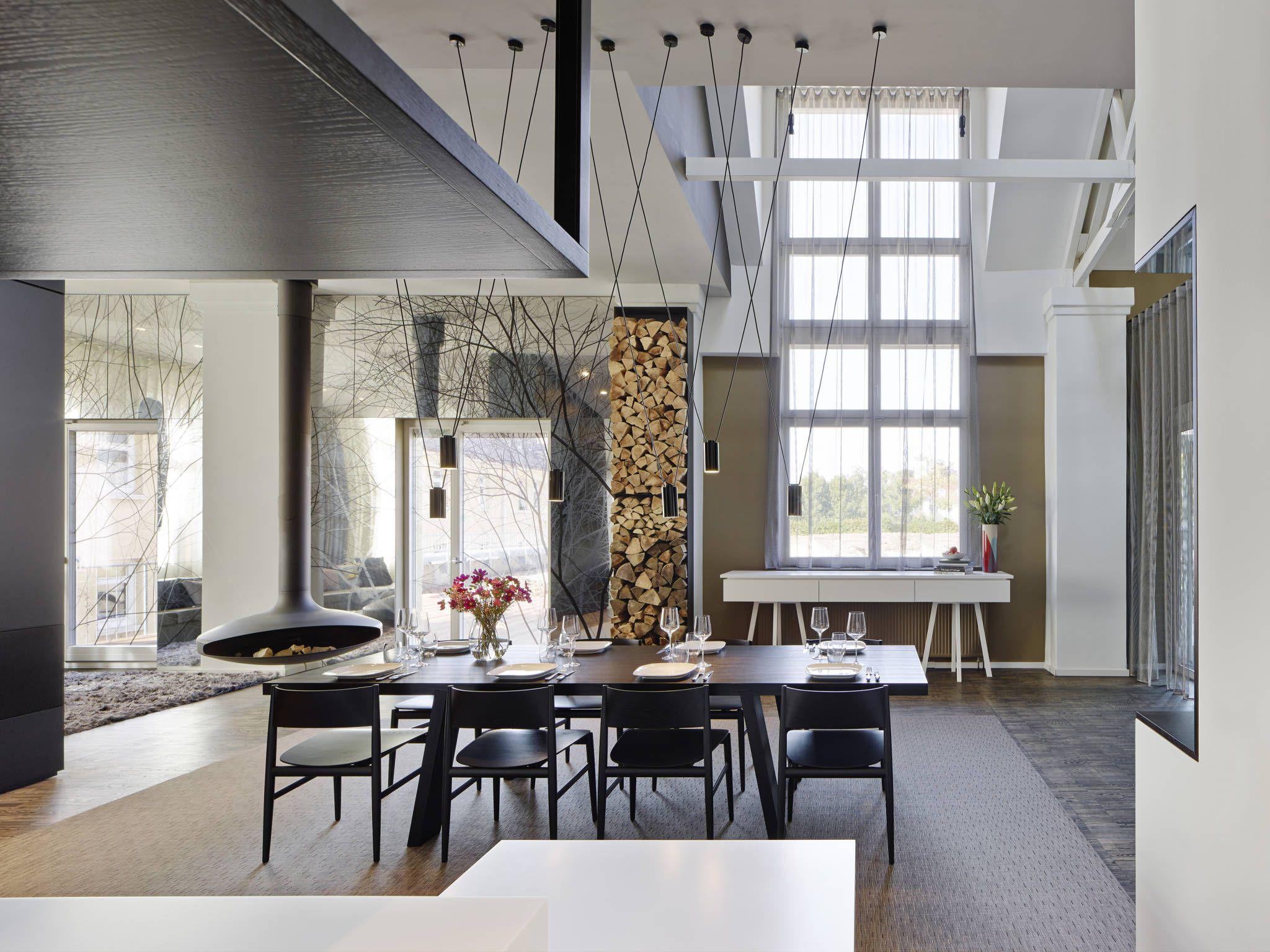 Loft ESN: Modern Esszimmer Von Ippolito Fleitz Group U2013 Identity Architects