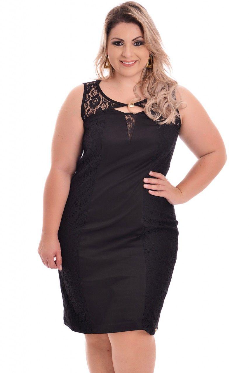 Vestido Black Suê