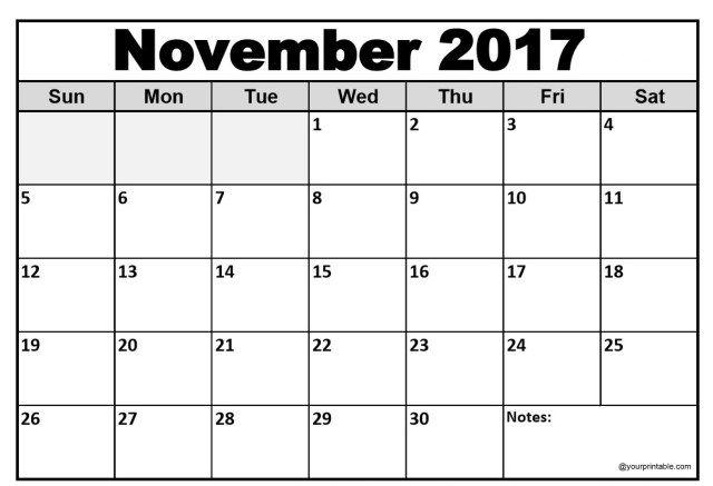 Pin By Rahul Singh On November 2017 Calendar 2017 Calendar