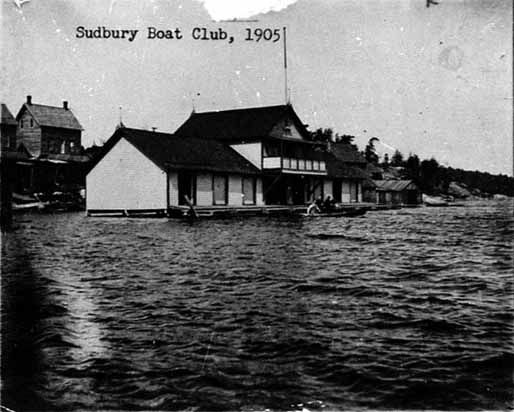 TITLE        Sudbury Boat Club, 1905. -- SOURCE       Main Branch. SOURCE       Photograph (index card). DATE         1905. DATE         1905. SUBJECT      Sudbury -- Buildings -- Houses. NOTE         City of Greater Sudbury Heritage Museums Collection. NOTE         Donated by Sudbury District Historical Society. NOTE         SPL 008. NUMBER       MK0111EN.