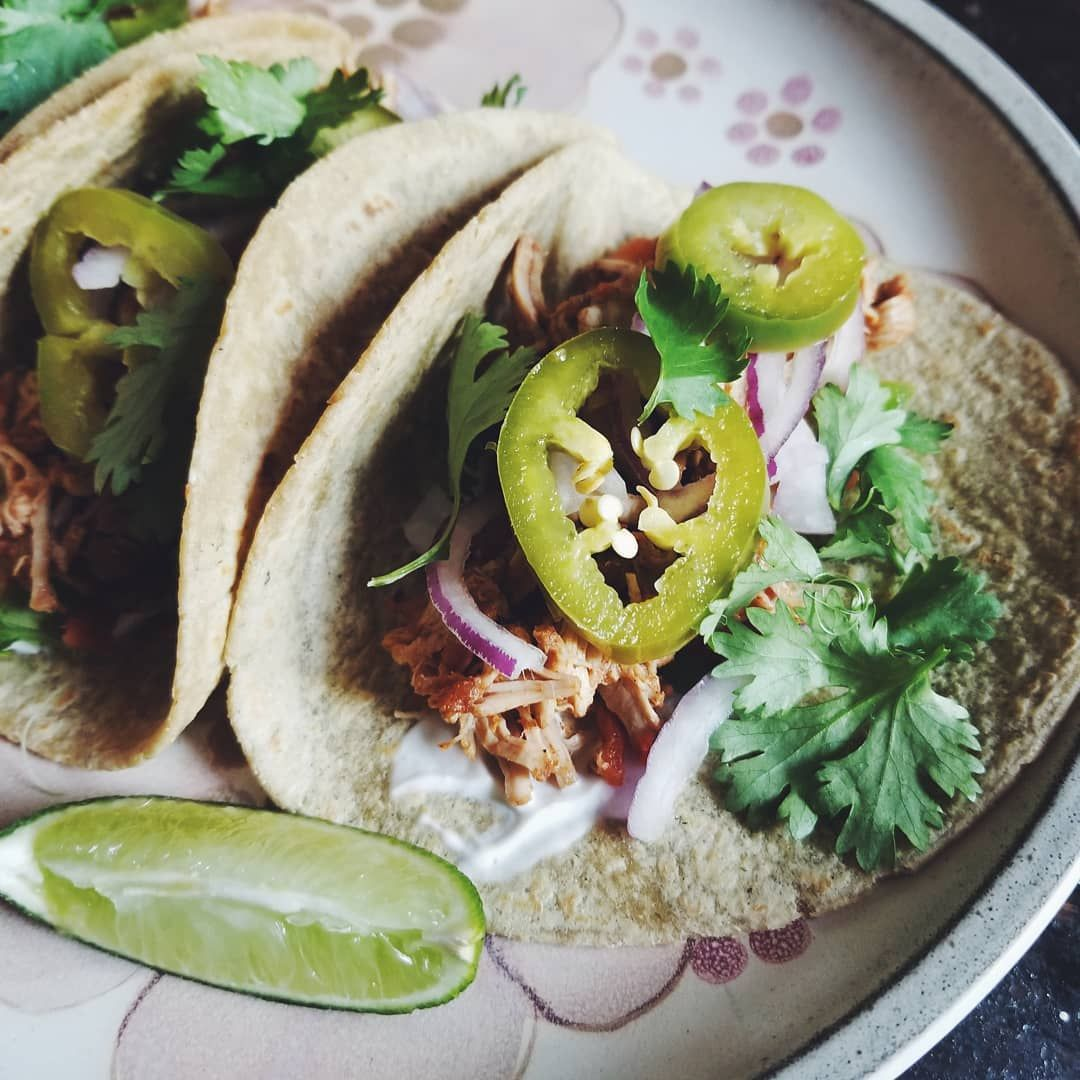 ✔pictame webstagram 🔥🔥🔥 Instagram post by @abandoned_echoes | Pulled pork tacos with homemade pickled jalapenos. Get in my belly! 😂🤤 | 🔥GPLUSE.CLUB