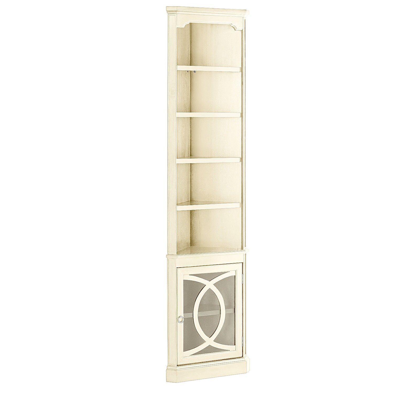 Biblioteca Antique White Corner Cabinet - Biblioteca Antique White Corner Cabinet White Corner Cabinet And