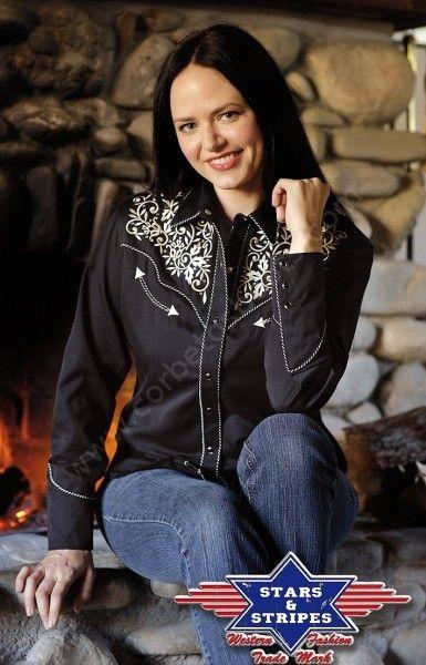 087f387da441 Preciosa camisa vaquera para chica de la marca Stars & Stripes con ...