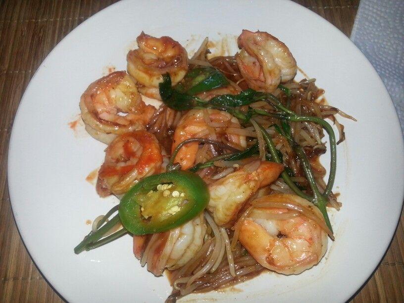 Thai chili shrimp