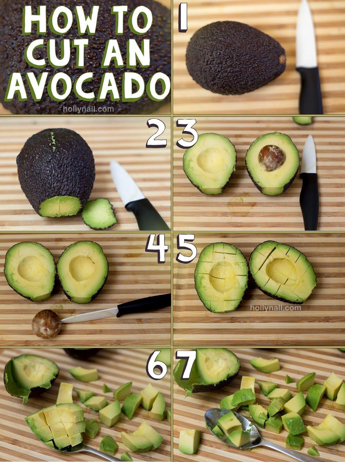 Watch How to Cut an Avocado video