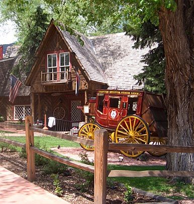 Colorado - The Stage Coach Inn has a pretty basic history, it was built in the 1880s as a stage coach stop for travelers offering overnight stays and good food. The Building is still open today as an inn and restaurant and is a very popular choice for the hungry traveler as its food is very highly recommended.