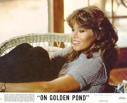 Jane Fonda On Golden Pond LIMITED STOCK 8X10 Original Lobby Card ...