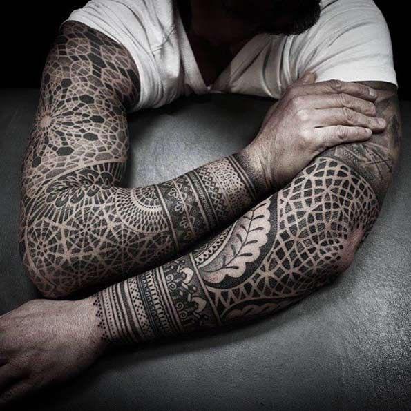 99 Amazing Tattoo Designs All Men Must See -   12 geometric tattoo men ideas