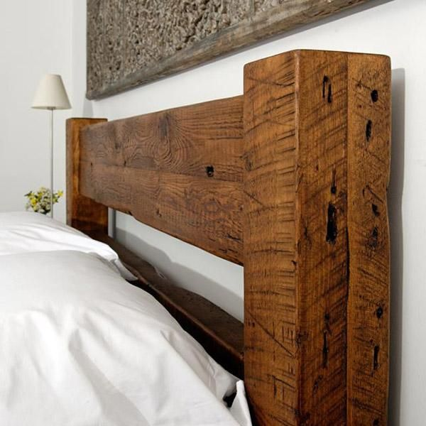 Sweet Dreams Beam Reclaimed Wood Bed
