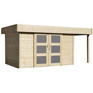 Abri de jardin en bois Tana, 1349 m  Jardin Pinterest Best - plan de cabane de jardin