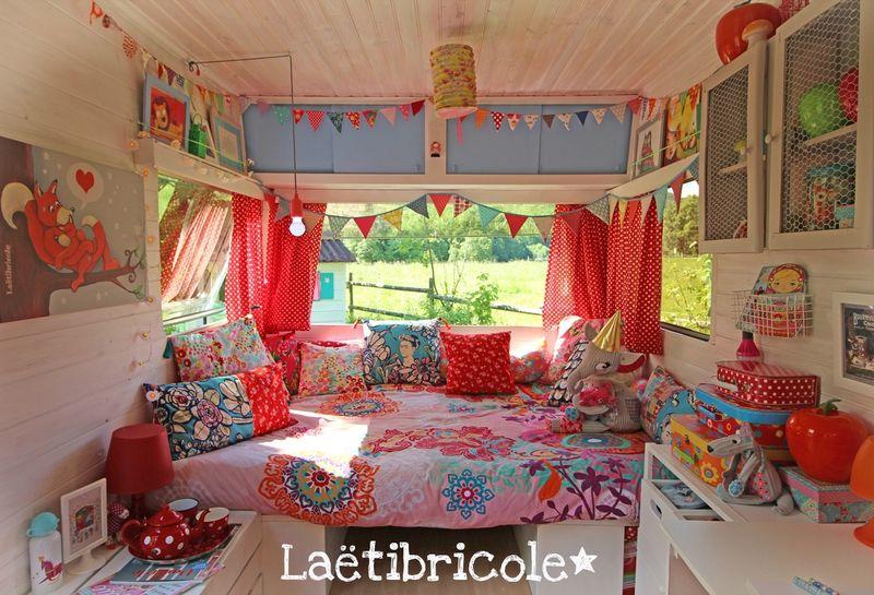 la vie de boh me laetibricole karavan pinterest caravane r novation caravane et roulotte. Black Bedroom Furniture Sets. Home Design Ideas