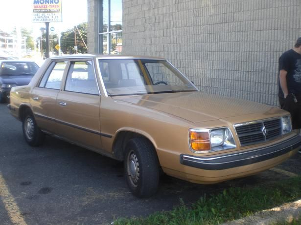 Metallic Gold Dodge Aries K A Similar Model My First Car Nickname