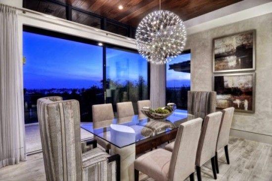 Comedor elegante moderno Decoración Interiores Pinterest