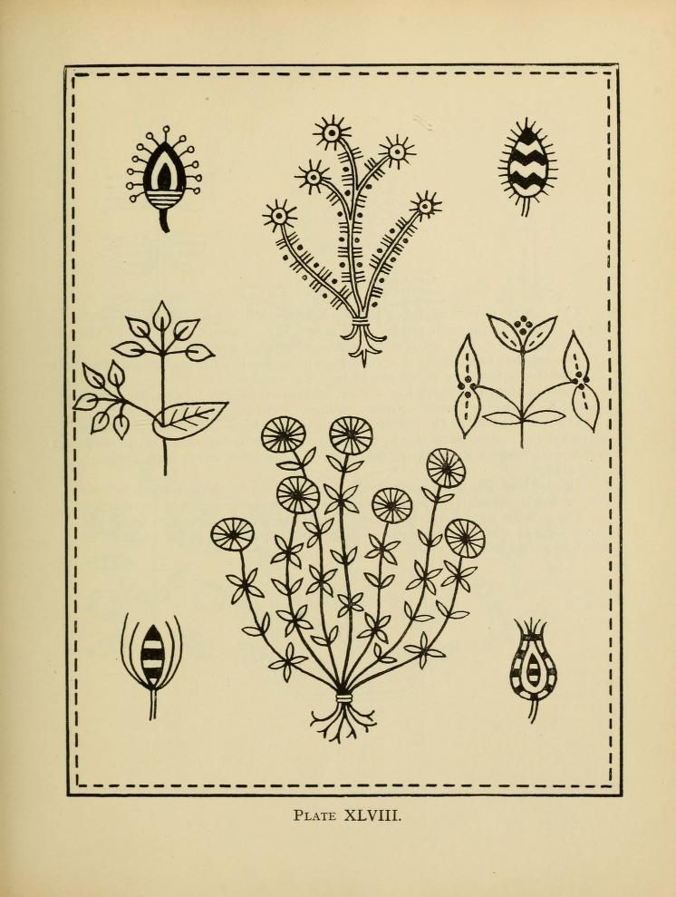 An embroidery pattern book, by Mary E. Waring - Published 1917 ...