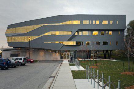 Building Overview #VMZINC  http://www.vmzinc-us.com/our-solutions/vmzinc-facade/vmz-flat-lock-panel.html