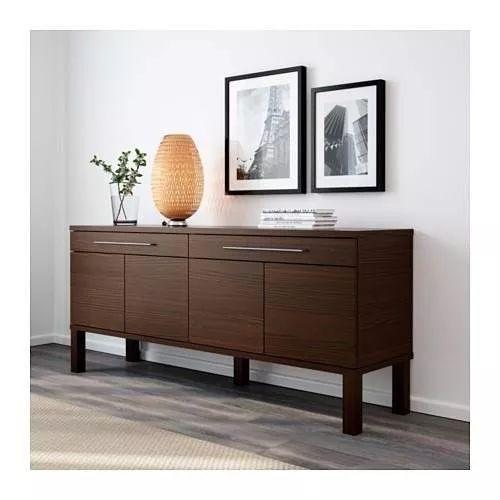 mueble trinchador para comedor ikea modelo bjursta | Muebles | Pinterest