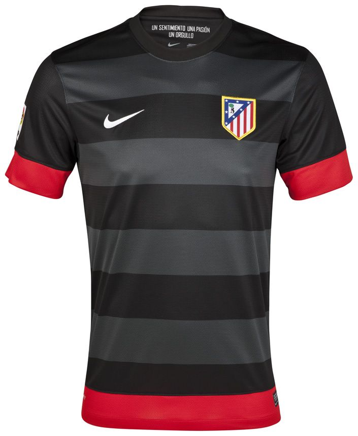 fdb0da41e4 2012/13 ATLÉTICO MADRID AWAY BY NIKE | Camisetas | Soccer shirts ...