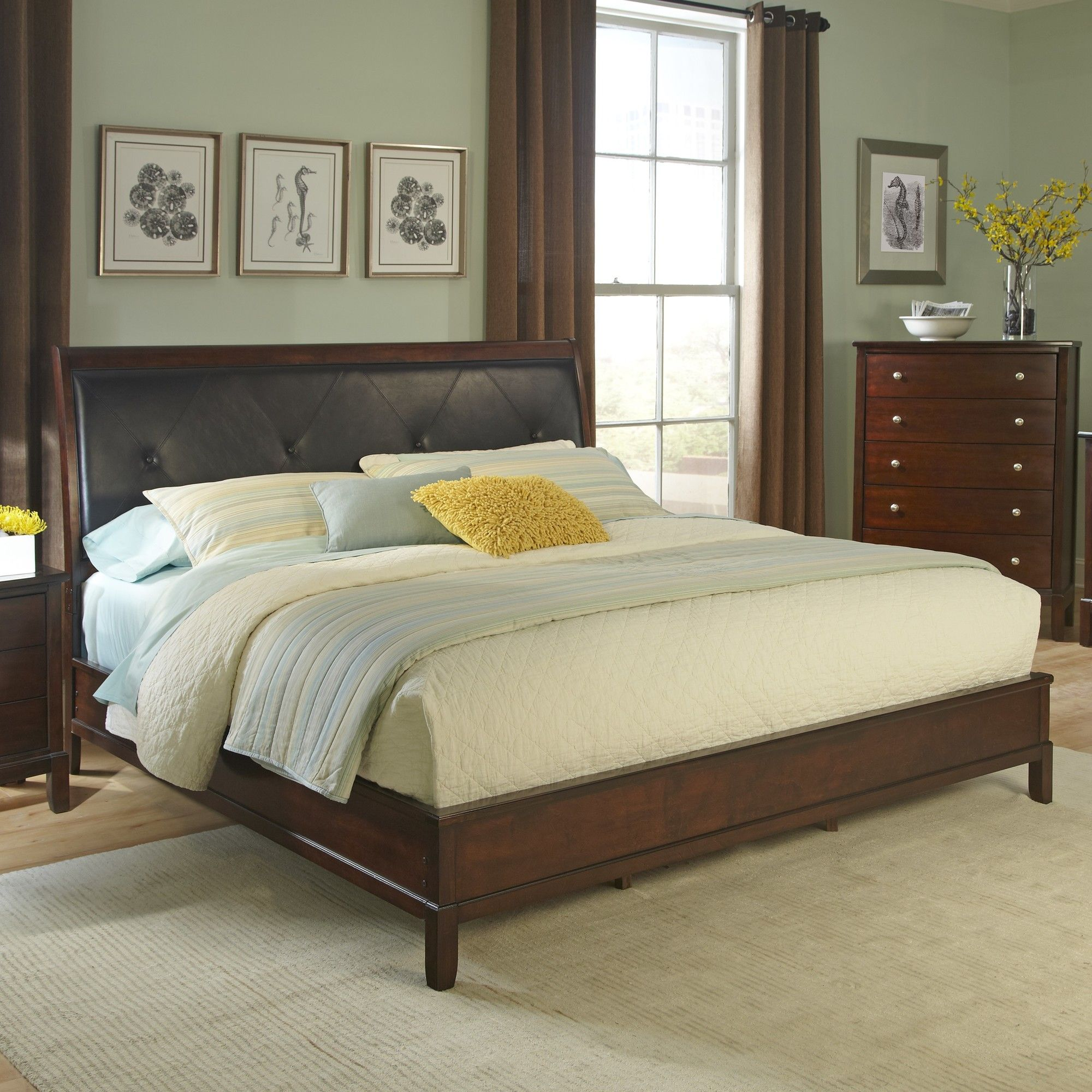 Denver Upholstered Standard Bed | Products in 2019 | King ...