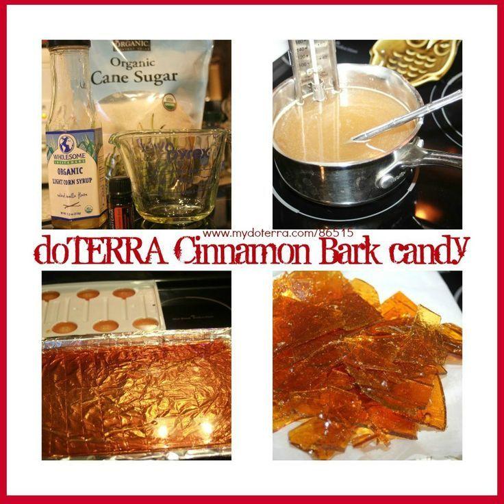 doTERRA Cinnamon Bark Candy  Get your Essential Oils here: #mydoterra.com/josiepoole