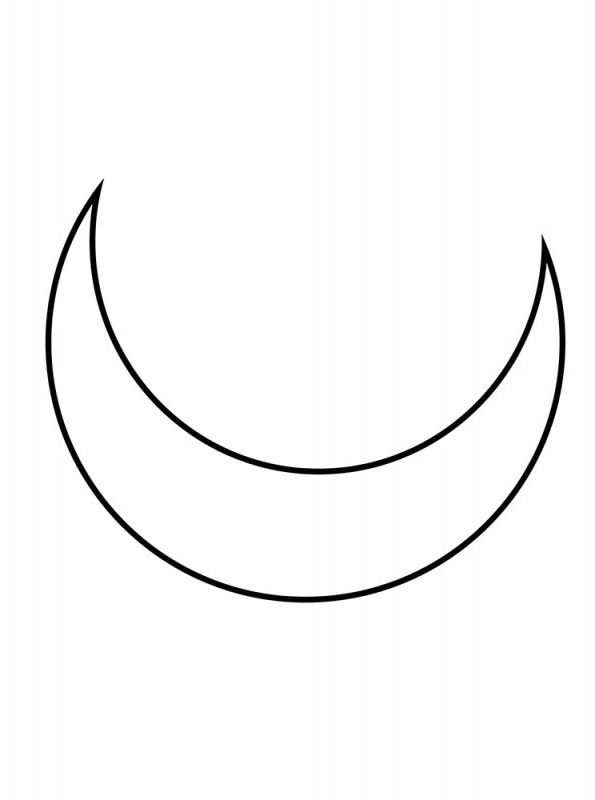 Tattoo Stencils Printable Moon: Half Moon Tattoo, Small Tattoos