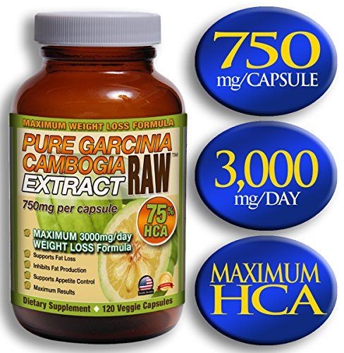 Garcinia Cambogia Extract RAW™ : 75% HCA - Do not exceed 3000mg/day - PUREST GARCINIA CAMBOGIA $17.99