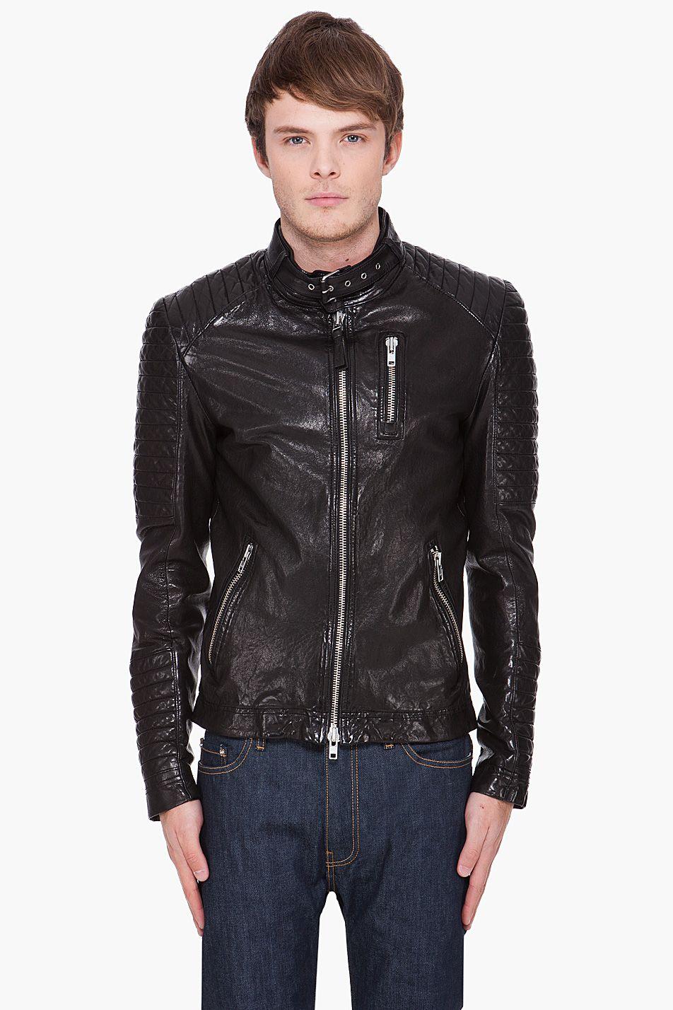 Mackage Clothing For Men Celebrities Leather Jacket Leather Jacket Mackage