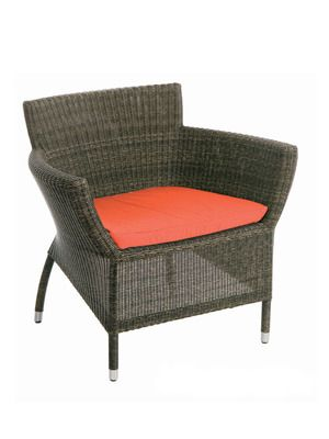 Les Jardins Osiris Low Wide Armchair 750 Gilt 1 039