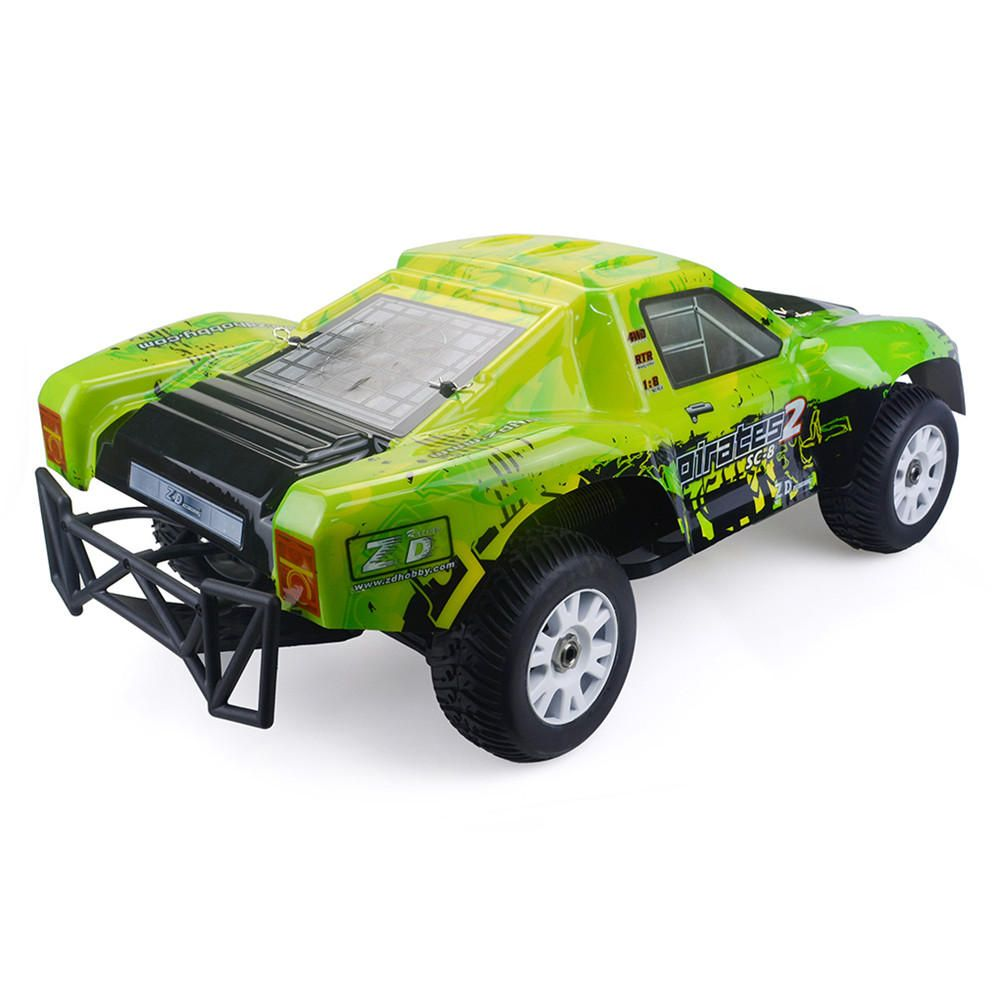 Zd Racing 9203 1 8 2 4g 4wd 80km H Brushless Rc Car Electric Short Course Truck Rtr Toys Rc Vehicles From Toys Hobbi Brushless Rc Cars Rc Cars Electric Rc Cars