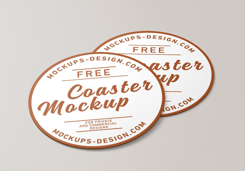 Free Round Coaster Psd Mockup Free Mockup Mockup Free Psd Free Mockup Mockup Psd