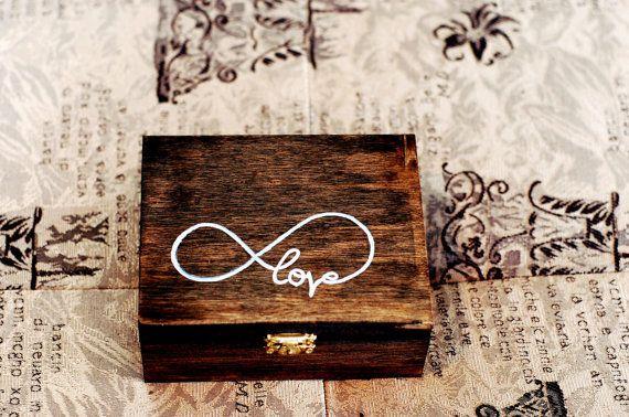 Ring Bearer Box hölzernen Ring Bearer Box von UrbanBrideBoutique