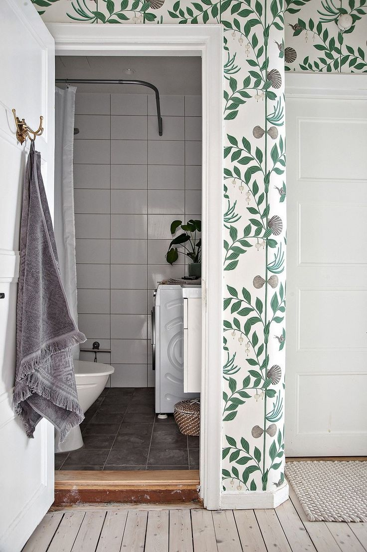 Salle De Bain Fleurie ~ pour la tapisserie brglbm pinterest tapisserie papier peint