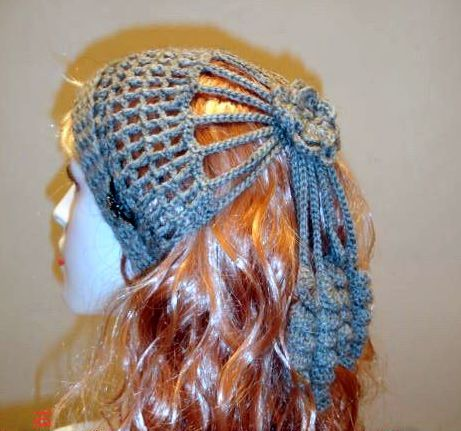 Diadema Rusa en Crochet Patron   Patrones para Crochet   gorritos ...
