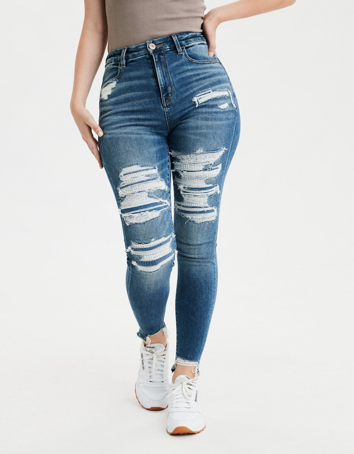 American eagle curvy jeans