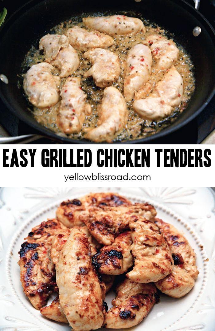 Grilled Chicken Tenderloins Recipe Creative Recipe