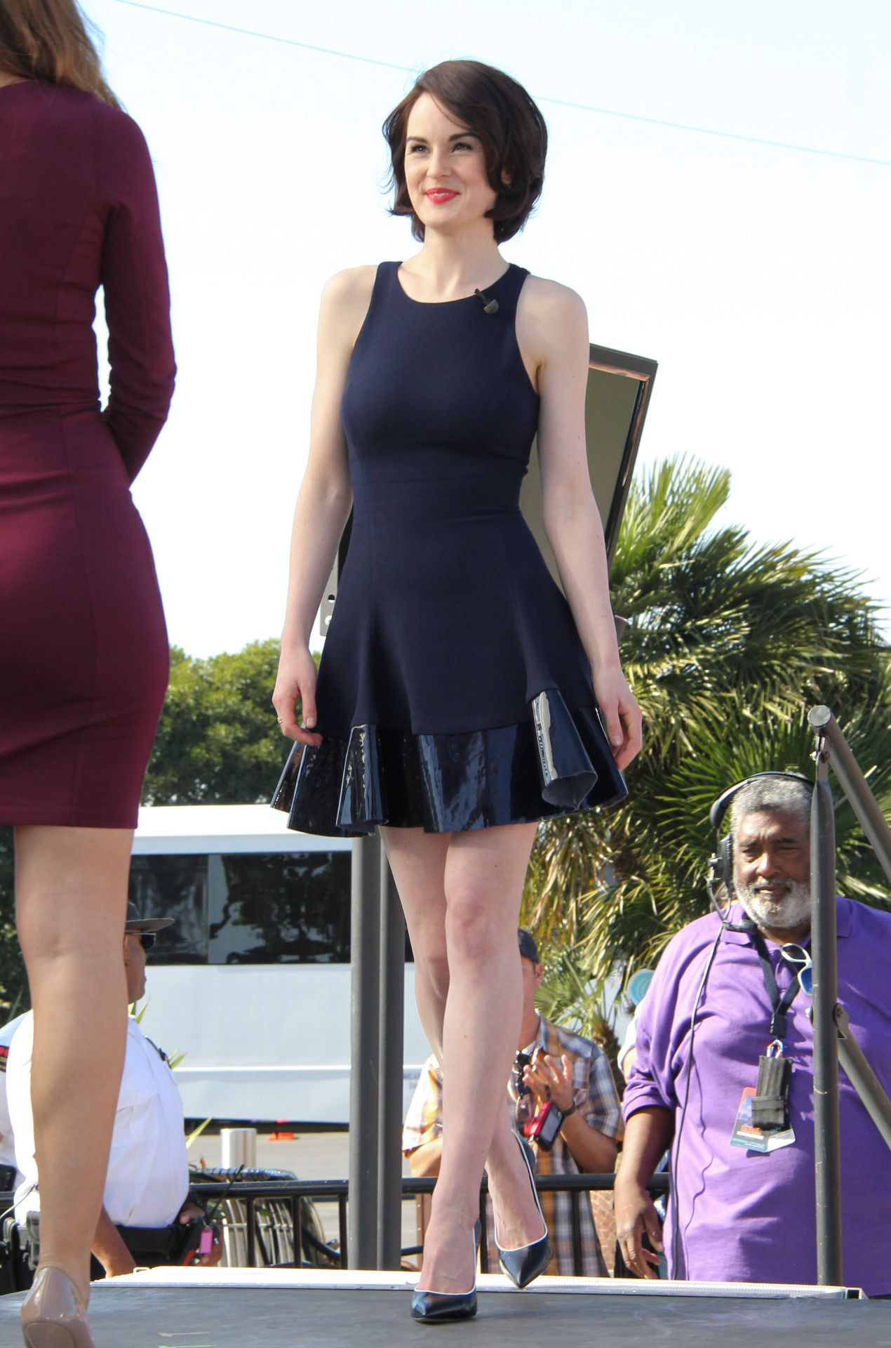 Paparazzi Is a cute Michelle Dockery naked photo 2017
